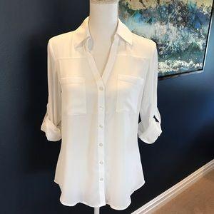 EXPRESS Portofino Slim Fit Shirt
